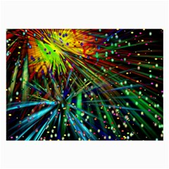 Exploding Fireworks Glasses Cloth (Large, Two Sided)
