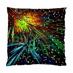 Exploding Fireworks Cushion Case (Two Sided)