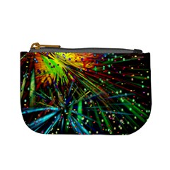 Exploding Fireworks Coin Change Purse