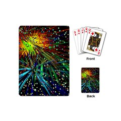 Exploding Fireworks Playing Cards (Mini)