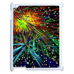Exploding Fireworks Apple Ipad 2 Case (white)