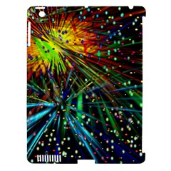 Exploding Fireworks Apple Ipad 3/4 Hardshell Case (compatible With Smart Cover)