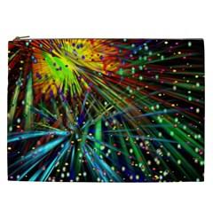 Exploding Fireworks Cosmetic Bag (xxl)