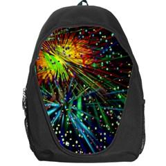 Exploding Fireworks Backpack Bag