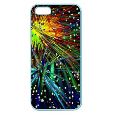 Exploding Fireworks Apple Seamless Iphone 5 Case (color)