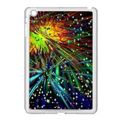 Exploding Fireworks Apple Ipad Mini Case (white)