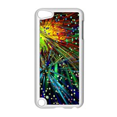 Exploding Fireworks Apple iPod Touch 5 Case (White)