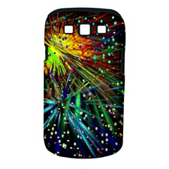 Exploding Fireworks Samsung Galaxy S III Classic Hardshell Case (PC+Silicone)