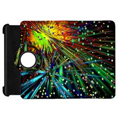 Exploding Fireworks Kindle Fire HD 7  (1st Gen) Flip 360 Case