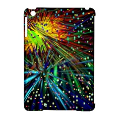 Exploding Fireworks Apple iPad Mini Hardshell Case (Compatible with Smart Cover)