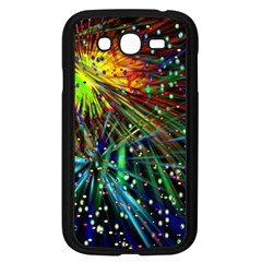 Exploding Fireworks Samsung Galaxy Grand DUOS I9082 Case (Black)