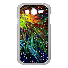 Exploding Fireworks Samsung Galaxy Grand DUOS I9082 Case (White)