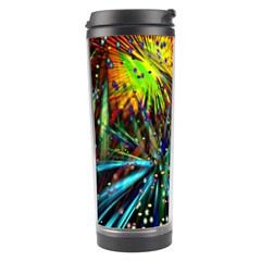 Exploding Fireworks Travel Tumbler