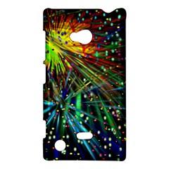 Exploding Fireworks Nokia Lumia 720 Hardshell Case