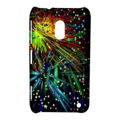 Exploding Fireworks Nokia Lumia 620 Hardshell Case