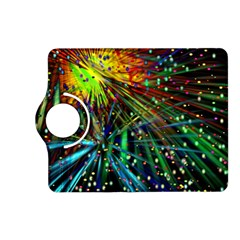 Exploding Fireworks Kindle Fire HD 7  (2nd Gen) Flip 360 Case