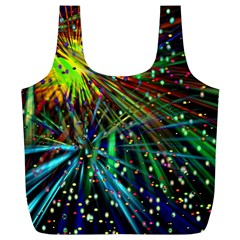 Exploding Fireworks Reusable Bag (XL)