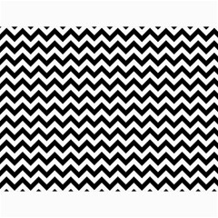 Black And White Zigzag Canvas 18  x 24  (Unframed)
