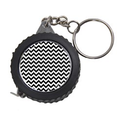 Black And White Zigzag Measuring Tape