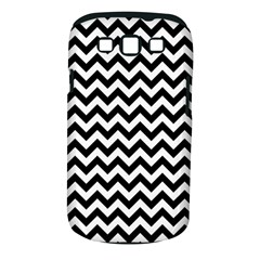 Black And White Zigzag Samsung Galaxy S Iii Classic Hardshell Case (pc+silicone)