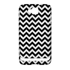 Black And White Zigzag Samsung Ativ S i8750 Hardshell Case