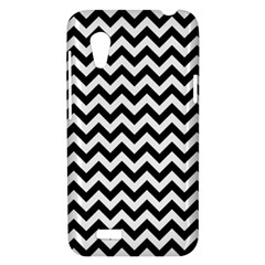 Black And White Zigzag HTC Desire VT (T328T) Hardshell Case