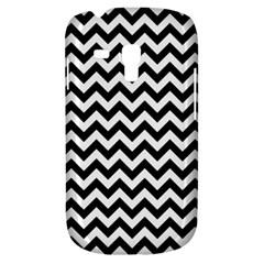 Black And White Zigzag Samsung Galaxy S3 Mini I8190 Hardshell Case