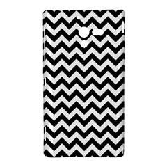 Black And White Zigzag Sony Xperia ZL (L35H) Hardshell Case