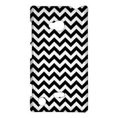 Black And White Zigzag Nokia Lumia 720 Hardshell Case