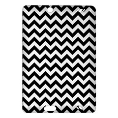 Black And White Zigzag Kindle Fire HD 7  (2nd Gen) Hardshell Case