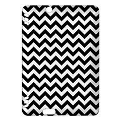 Black And White Zigzag Kindle Fire Hdx 7  Hardshell Case
