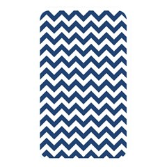 Dark Blue And White Zigzag Memory Card Reader (Rectangular)
