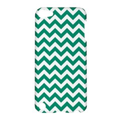 Emerald Green And White Zigzag Apple Ipod Touch 5 Hardshell Case