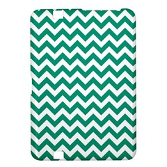 Emerald Green And White Zigzag Kindle Fire Hd 8 9  Hardshell Case