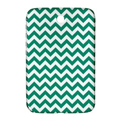 Emerald Green And White Zigzag Samsung Galaxy Note 8.0 N5100 Hardshell Case