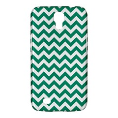 Emerald Green And White Zigzag Samsung Galaxy Mega 6.3  I9200 Hardshell Case