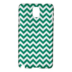 Emerald Green And White Zigzag Samsung Galaxy Note 3 N9005 Hardshell Case