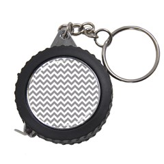 Grey And White Zigzag Measuring Tape