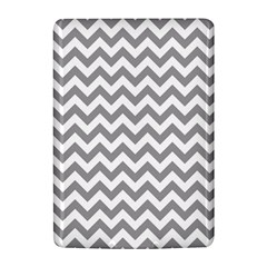 Grey And White Zigzag Kindle 4 Hardshell Case