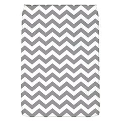 Grey And White Zigzag Removable Flap Cover (Small)