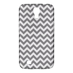 Grey And White Zigzag Samsung Galaxy Mega 6.3  I9200 Hardshell Case