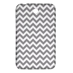 Grey And White Zigzag Samsung Galaxy Tab 3 (7 ) P3200 Hardshell Case