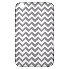 Grey And White Zigzag Samsung Galaxy Tab 3 (8 ) T3100 Hardshell Case
