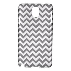 Grey And White Zigzag Samsung Galaxy Note 3 N9005 Hardshell Case