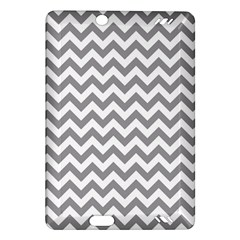 Grey And White Zigzag Kindle Fire HD 7  (2nd Gen) Hardshell Case