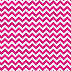 Hot Pink And White Zigzag Canvas 12  x 12  (Unframed)