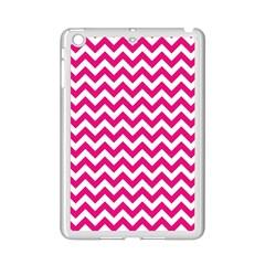 Hot Pink And White Zigzag Apple Ipad Mini 2 Case (white)