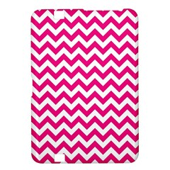 Hot Pink And White Zigzag Kindle Fire Hd 8 9  Hardshell Case