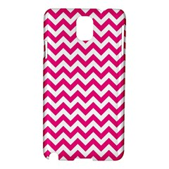 Hot Pink And White Zigzag Samsung Galaxy Note 3 N9005 Hardshell Case