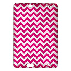 Hot Pink And White Zigzag Kindle Fire HD 7  (2nd Gen) Hardshell Case